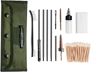 Gun Cleaning Kit Pistol for AR15, M16, M4 by Glory Fire
